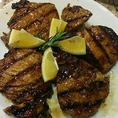 Grilled Yellowfin Tuna with Marinade - Allrecipes.com