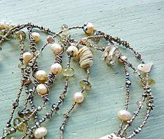 souvenir heart necklace - nina bagley