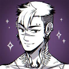Tattoo/Piercing AU? Shiro