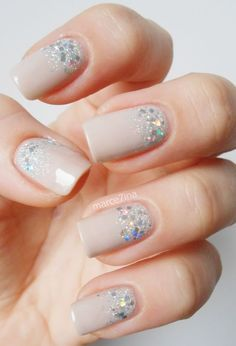 Manicure con glitter [FOTOS] | ActitudFEM
