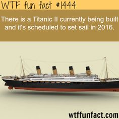 the titanic II - will be finished in 2016 WTF FUN FACTS HOME /See MORE TAGGED/ awesome FACTS (source)
