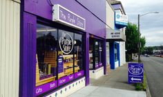 Nothing but purple at Seattle's The Purple Store