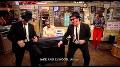 Twisting, shake it baby - The Blues Brothers (1980, J. Landis)