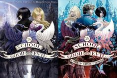 """""""School for Good and Evil"""" series by Soman Chainani Picked the first one up randomly bc of the interesting cover, and thoroughly enjoyed it. I can't wait to read 2 and would recommend! Book Club Books, Good Books, My Books, School For Good And Evil, Worlds Of Fun, Book Design, Pixel Art, Book Worms, Manga Anime"""