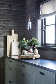 Shop Original BTC Lighting @ Olson and Baker Over Sink Lighting, Kitchen Lighting, Btc Lighting, Scandinavian Cabin, Davey Lighting, Cabin Interiors, Glass Pendant Light, Log Homes, Seasonal Decor