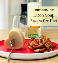 It was inevitable...  In a world obsessed with bacon, there was going to be a bacon soap recipe!  Rebecca over at SoapDeliNews.com put this recipe together:Homemade Bacon Soap Recipe for Men