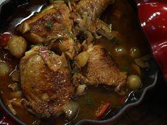 Chicken Chasseur dish