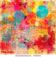 stock photo : Grunge colorful background