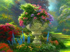 'Garden of Hope' by Thomas Kinkade