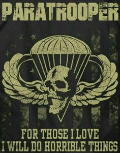 Amen! Airborne Army, Airborne Ranger, 82nd Airborne Division, Army Life, Military Life, Military Art, Airborne Tattoos, Military Drawings, Military Tattoos