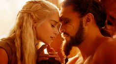 Daenerys Targaryen e Kahl Drogo