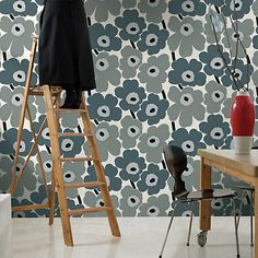 Buy Marimekko Unikko Wallpaper Online at johnlewis.com