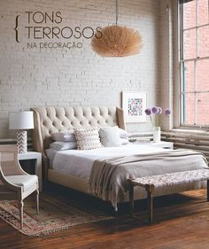 The trend of white, beige and brown decor.