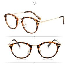 0926235f190 ROYAL GIRL High Quality TR Frame Fashion Glasses Women Eyeglasses frame  Vintage Brand Deaigner Round Clear
