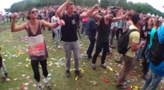 Ravers dance to Benny Hill. Hilarious dub video. #rave #ravers #dancing #bennyhill