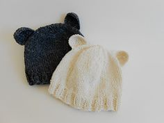 This adorable newborn baby hat is easy to knit and only takes about ravelry basic newborn bear hat pattern by kiel lemon knitting patterns babyknitting dt1010fo