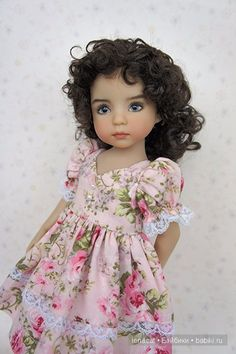 Emily by Dianna Effner Girl Doll Clothes, Girl Dolls, Dolls Dolls, Just Love Me, Doll Eyes, Having A Bad Day, Little Darlings, Beautiful Dolls, Flower Girl Dresses