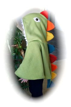 Dinosaur cape- possibly without a head to match dino masks from Oriental Trading Co.