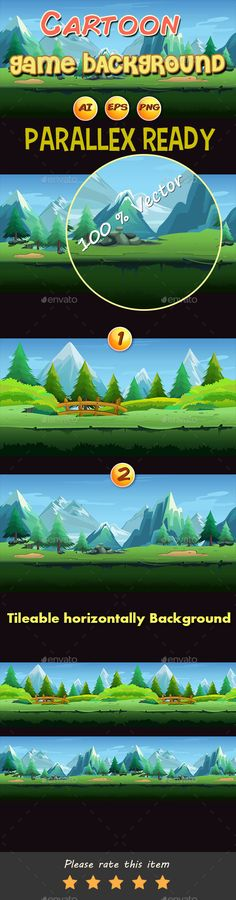 Cartoon Game Backgrounds Download here: https://graphicriver.net/item/cartoon-game-backgrounds/11889741?ref=KlitVogli