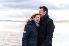 Engagement Shoot at Camber Sands, Sussex