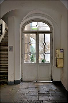 lovely arched door