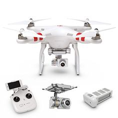 Czxin DJI Phantom 2 Vision V30 Drone Rc Quadcopter with Gimbalstabilized 14mp FHD 1080p Camera RTF GPS FPV  Extra Battery * You can get more details by clicking on the image. (This is an affiliate link and I receive a commission for the sales)