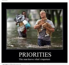 It's always about priorities...