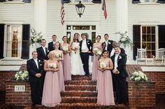 Real North Carolina Wedding -- Rustic Romance Wedding at Rose Hill Plantation - Southern Bride & Groom