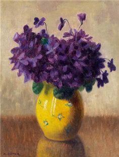 Ayetullah Sümer Vazoda Çiçekler 35.00 x 27.00 cm. Tual üzerine yağlıboya