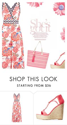"""""""Flowers"""" by cilita-d ❤ liked on Polyvore featuring Temperley London, Charlotte Russe and Accessorize"""
