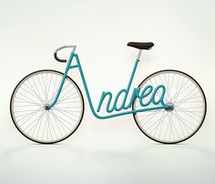 maybe this will be the best solution to prevent bicycle theft.... a pretty one too!