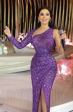 sparkly prom dresses 2020 one shoulder long sleeve sequins sparkly mermaid front slit mermaid evening dresses gowns Lace Dress Styles, African Lace Dresses, Latest African Fashion Dresses, Sparkly Prom Dresses, Mermaid Evening Dresses, Formal Evening Dresses, Dress Formal, Wedding Dresses, Elegant Dresses For Women