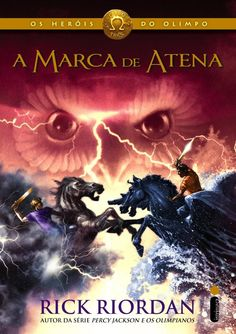 """A Marca de Atena (Rick Riordan) - Os Heróis do Olimpo #3  """"Até que essa questão antiga finalmente seja resolvida, assim diz a lenda, romanos e gregos nunca viverão em paz. E a lenda está centrada em Atena…"""" página 40.  http://blablablaaleatorio.com/2014/05/25/a-marca-de-atena-rick-riordan/"""