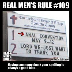 Some church signs prove that punctuation can make a BIG difference. These 31 hilariously offensive church signs are sure to make you laugh out loud.