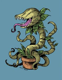 6c2a8029eb9 Image result for Plant monster drawing art