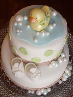 rubber ducky cake pictures | Rubber Ducky Baby Shower~