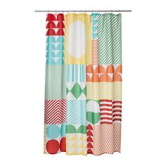 IKEA - NIMMERN, Shower curtain,  I am going to make a backyard sun sail shade out of this because I am a genius.