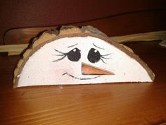 Knick Nack Snowman Sits great on any flat by GottwaltCrafts, $4.99