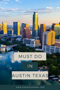 Nestled deep in the heart of Texas is the lively, vibrant city of Austin. Be sure check out some of these Austin must-dos for the whole family! Usa Travel Guide, Travel Usa, Travel Guides, Travel Tips, Us Travel Destinations, City Guides, Austin Texas, Hawaii Travel, Great View