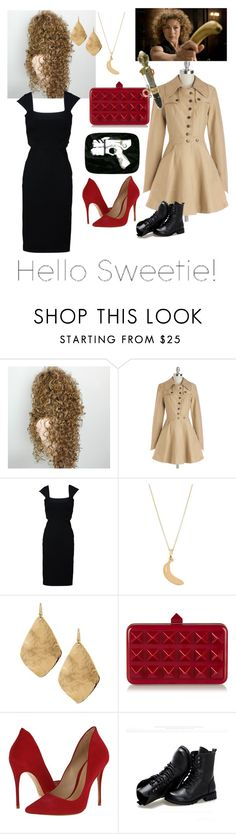 """""""RIVER SONG / MELODY POND"""" by dontkaitlyn on Polyvore featuring Nick & Mo, STELLA McCARTNEY, Sabrina Dehoff, Chico's, Valentino, Schutz and Sunsteps"""