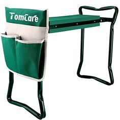 TomCare Garden Kneeler Seat Garden Bench Garden Stools Foldable Stool with Tool Bag Pouch EVA Foam Pad Outdoor Portable Kneeler for Gardening Foldable Stool, Cool Fathers Day Gifts, Tool Pouch, Garden Tool Set, Foam Cushions, Tool Storage, Amazing Gardens, Ebay, Garden Stools