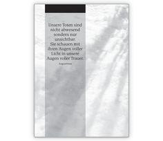 Trauerkarte: Unsere Toten sind nicht abwesend - http://www.1agrusskarten.de/shop/trauerkarte-unsere-toten-sind-nicht-abwesend/    00012_0_734, Abschied, Beileidskarte, gedenken,, Grußkarte, Helga Bühler, Klappkarte, trösten00012_0_734, Abschied, Beileidskarte, gedenken,, Grußkarte, Helga Bühler, Klappkarte, trösten