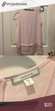 Business professional blouse thank top Blush pink, never worn Pleione Tops Blouses