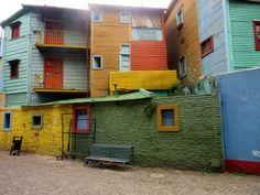 Caminito - Buenos Aires - Argentina Passeios em Buenos Aires Dicas de Buenos Aires
