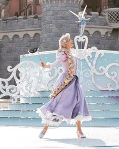 Walt Disney World, Disney World Princess, Punk Disney Princesses, Disney Day, Cute Disney, Disney Magic, Disney Parks, Rapunzel Outfit, Rapunzel Cosplay