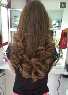 Curled Hairstyles, Cool Hairstyles, Curls For Long Hair, Thick Hair, Great Hair, Awesome Hair, Hair Flip, Perfect Curls, Long Curly