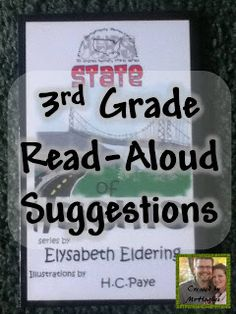 """3rd Grade Teachers- Come and Check out the great read aloud suggestions and share YOUR favorite books! An Educator's Life: """"Read-Aloud Round-Up"""" Book Share"""