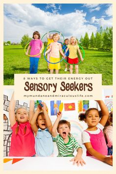 If your child is a #Sensory #Seeker there are easy ways to help them get rid of their extra energy! Kids Learning Activities, Sensory Activities, Infant Activities, Sensory Kids, Fun Learning, Calming Activities, Writing Prompts For Kids, Kids Writing, Raising Kids