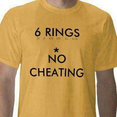 PITTSBURGH STEELERS~ 6 rings t-shirt