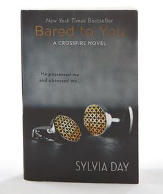 Sylvia Day's first novel in the Crossfire series, Bared to You, is a page-meltingly hot read!  A must-read for fans of Fifty Shades of Grey.... #summerreading #romance #crossfire